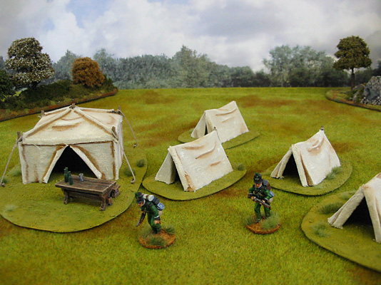 Battlefield Tents