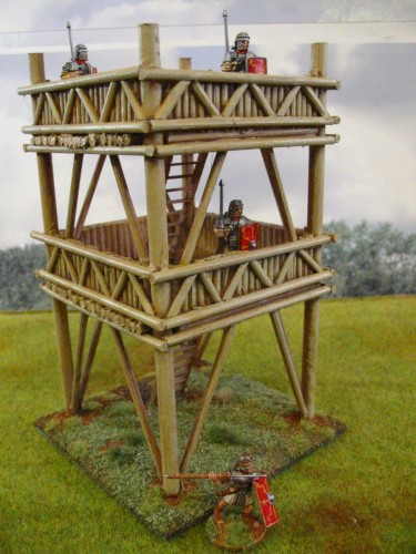 Roman Wooden Watchtower 28mm Paul S Modelling Workshop