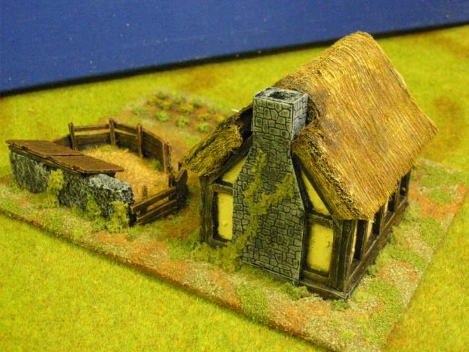 Northern European Peasants Cottage Paul S Modelling Workshop