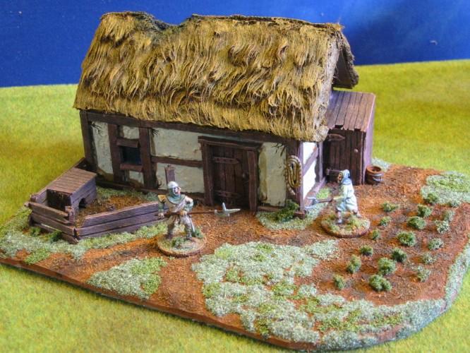 Northern European Peasants Cottage - Paul's Modelling Workshop