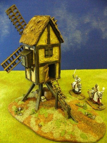 Crecy Style European Windmill Paul S Modelling Workshop